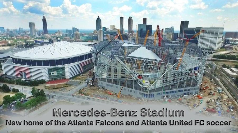 Mercedes benz stadium atlanta georgia most innovative for Mercedes benz stadium calendar