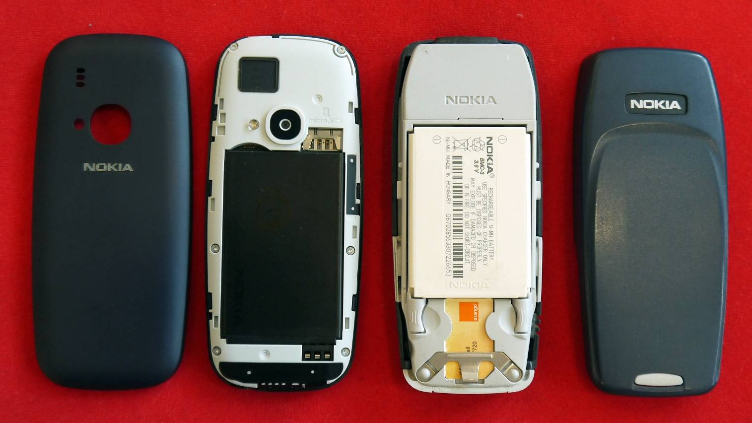 nokia 3310 interface old vs new